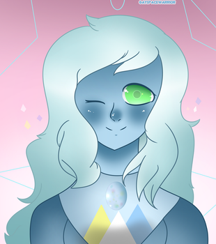 (Relationship/Fusion Call?? :o ) Water Opal by gayspacewarrior