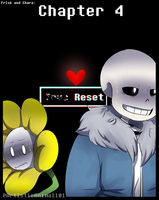 Frisk and Chara Chapter 4 Cover by ArtisticAnimal101
