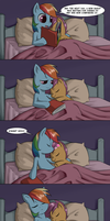 MLP:fim - Sleepless Scootaloo by BrainSucks