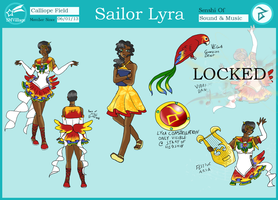 Sailor Lyra SMVillage App by Blue-and-Dog