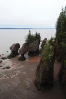 Hopewell Rocks 2 by LucieG-Stock