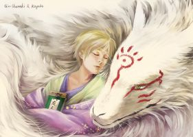 Collab.-Natsume Yuujinchou-Good Night by Gin-Uzumaki
