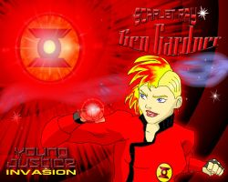 Young Justice Scarlet Ray Gen Gardner by KiteBoy1