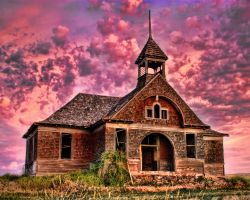 Govan Schoolhouse by badchess