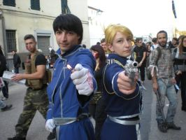Searching for Roy Mustang by StudioFeniceImport