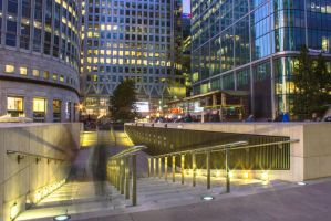 Canary Wharf by JSWoodhams