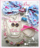 Sweet Lolita Jewelry by PockyStik