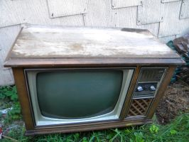 Old TV 2 by Stock7000