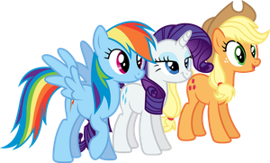 The Three (Older) Sisters by Cookie-Dough-Batter