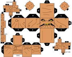 Cubeecraft  Clayface DC Super Heroes by handita2006