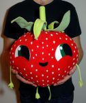 Berry from Cloudy with a chance of meatballs 2 by JanellesPlushies