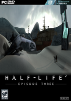 Half Life 2: Episode 3 fan made box art by BenGrunder