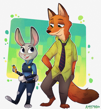 Zootopia by AmyPinkerson