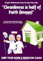 cleanliness is half of Imaan - Home by billax