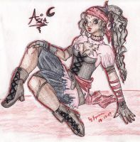 :-Asia the Pirate-: by Kyomana