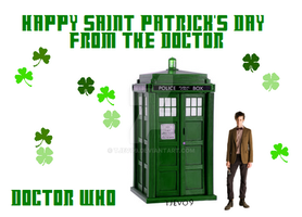 Happy St. Patrick's Day Whovian's! by tjevo9