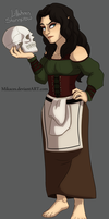 :Commission: Lillahren Storncrow by Mikaces