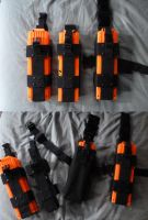 Updated NERF Clip Holders / Mag Pouches by MarcWF