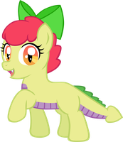 Apple Spice Smile by LudiculousPegasus