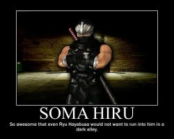 Soma Hiru Motivational Poster by JanetAteHer