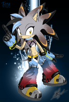 Tera the Hedgehog by ShockRabbit