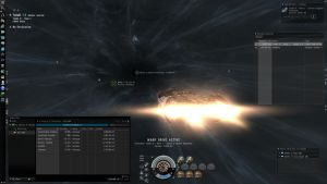 Eveonline - In a warp drive n1 by lv888