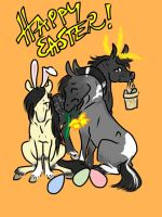 Happy Easter! by BlueLadyAces