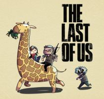THE LAST OF US T-SHIRT by MahiStuff