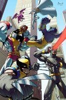 Astonishing X-Men by AdamMasterman