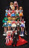 Sailor Moon Doll Collection by KittyCatKissu