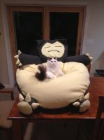 Snorlax Beanbag Chair by AlexRencurrel
