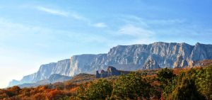 The part of Crimean mountains by Chari-ot
