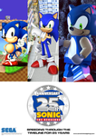 Sonic 25th Anniversary Poster (FM) by edogg8181804