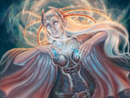 pythoness by Girre