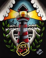The Lighthouse by Vicki-Death