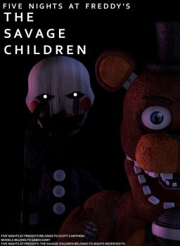 Five Nights at Freddy's The Savage Children Poster by LyricEntertainment