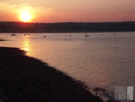 Sunset @ Mumbles by JDS-photo