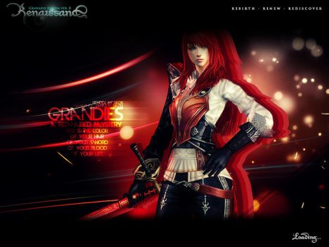 Grandies - Red-haired Girl by MutantDesigns
