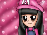My mii in Mario suit. XD by Missesamy930