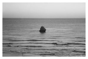 Rock In The Middle Of The Sea by LPCD