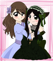 ~Aline and Sieglinde~ by LexaWalker