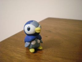 Piplup by Foureyedalien