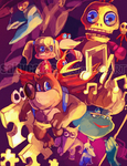 Banjo-Kazooie by saltycatfish
