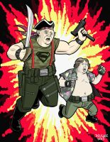 Forgotten Joes: Sloth and Chunk by dennisculver