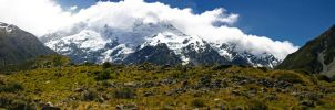 Mount Cook Region by evilkanivil