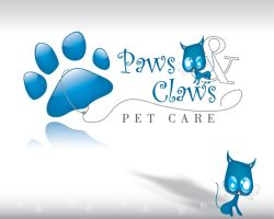 paws and claws logo by sameer