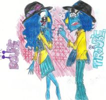 Zoot and Zara: Double Trouble by EffieQuisquilla