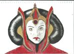 Padme Amidala by Nickmynotebook