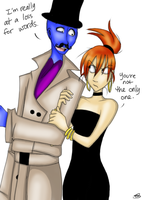 Orlando Bloo and Frankie by Porcelain-Requiem