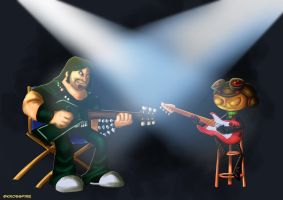 Guitar Duel by Kroizat